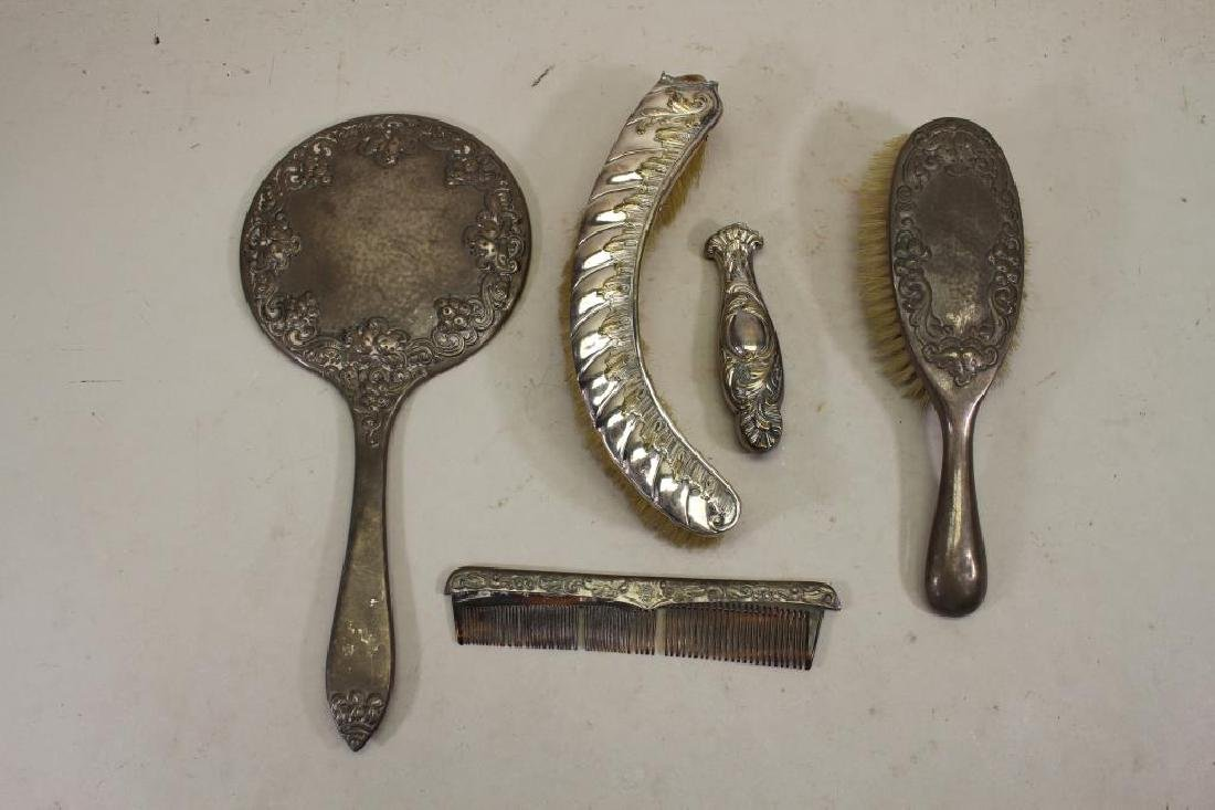 (5) Silver Dressing Articles