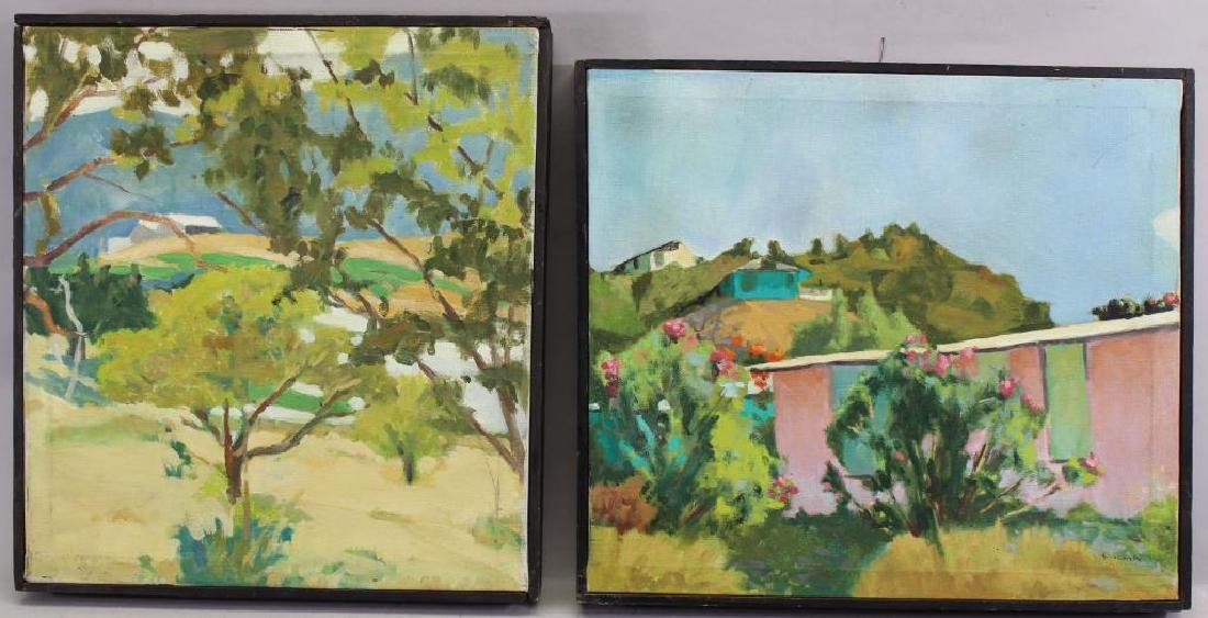 Mexican School, Signed 20th C. Paintings