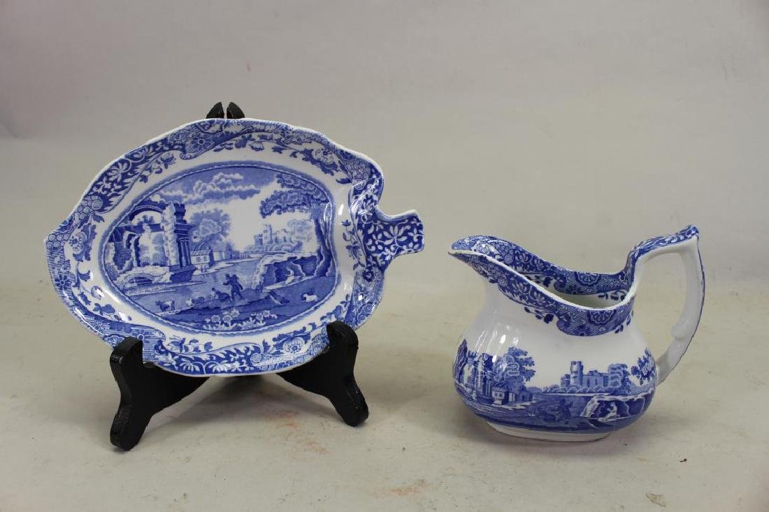 (2) Spode Porcelain Pieces