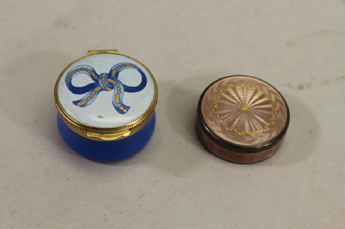 (2) Vintage Pill Boxes