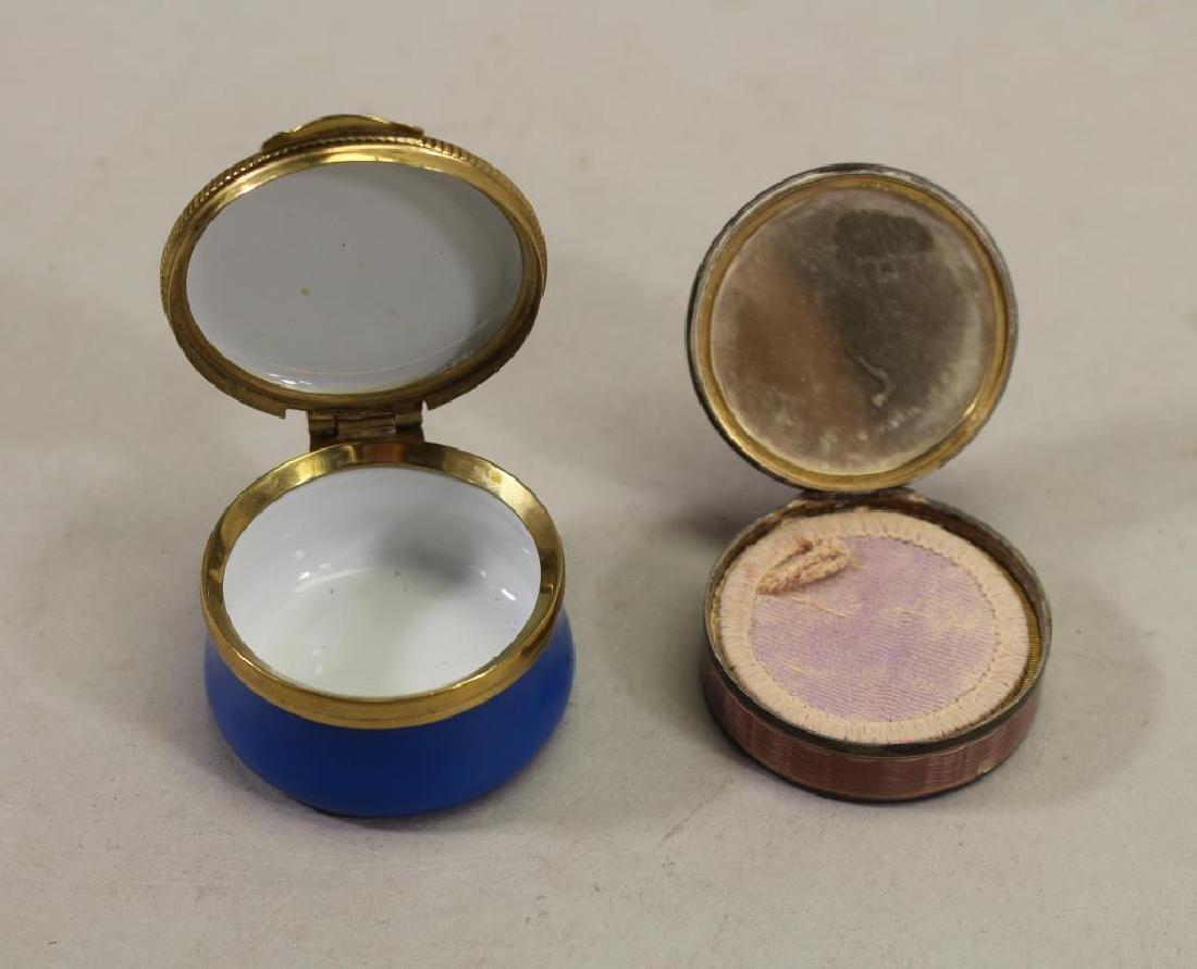 (2) Vintage Pill Boxes - 2