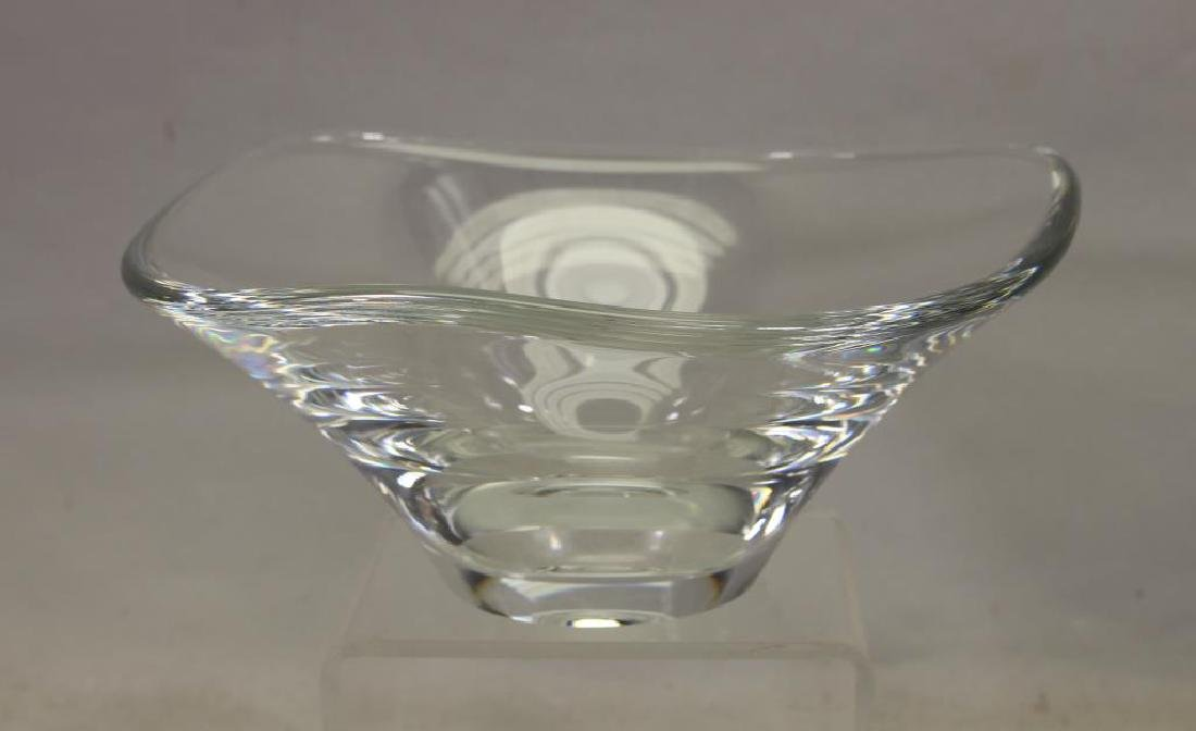 Steuben Style Glass Bowl