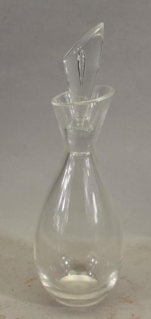 Steuben Glass Decanter