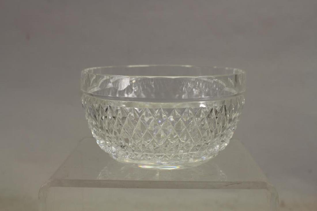 (3) Glass Articles, Two Signed Waterford - 2
