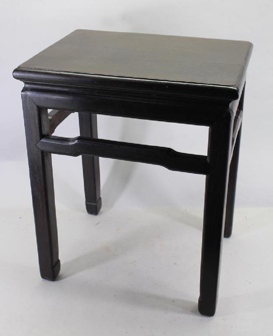 Antique Chinese Wooden End Table