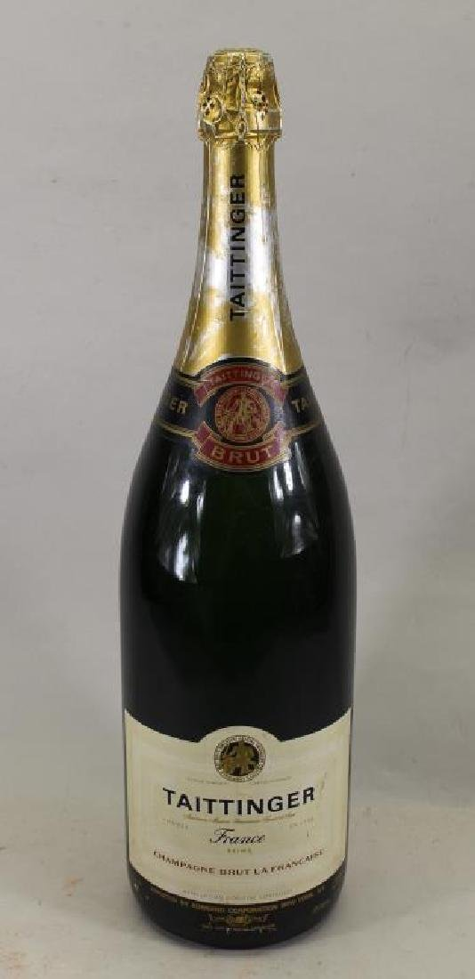 Large Display Bottle of Taittinger Champagne