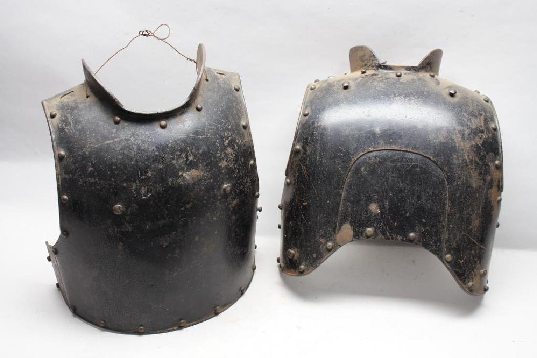 Antique Medieval Style Breastplate & Backplate