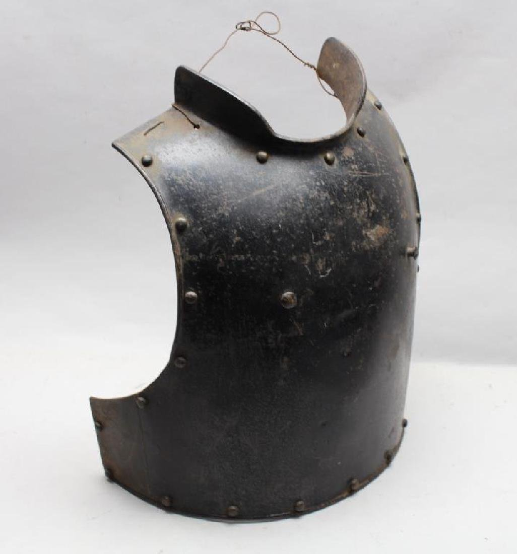 Antique Medieval Style Breastplate & Backplate - 2