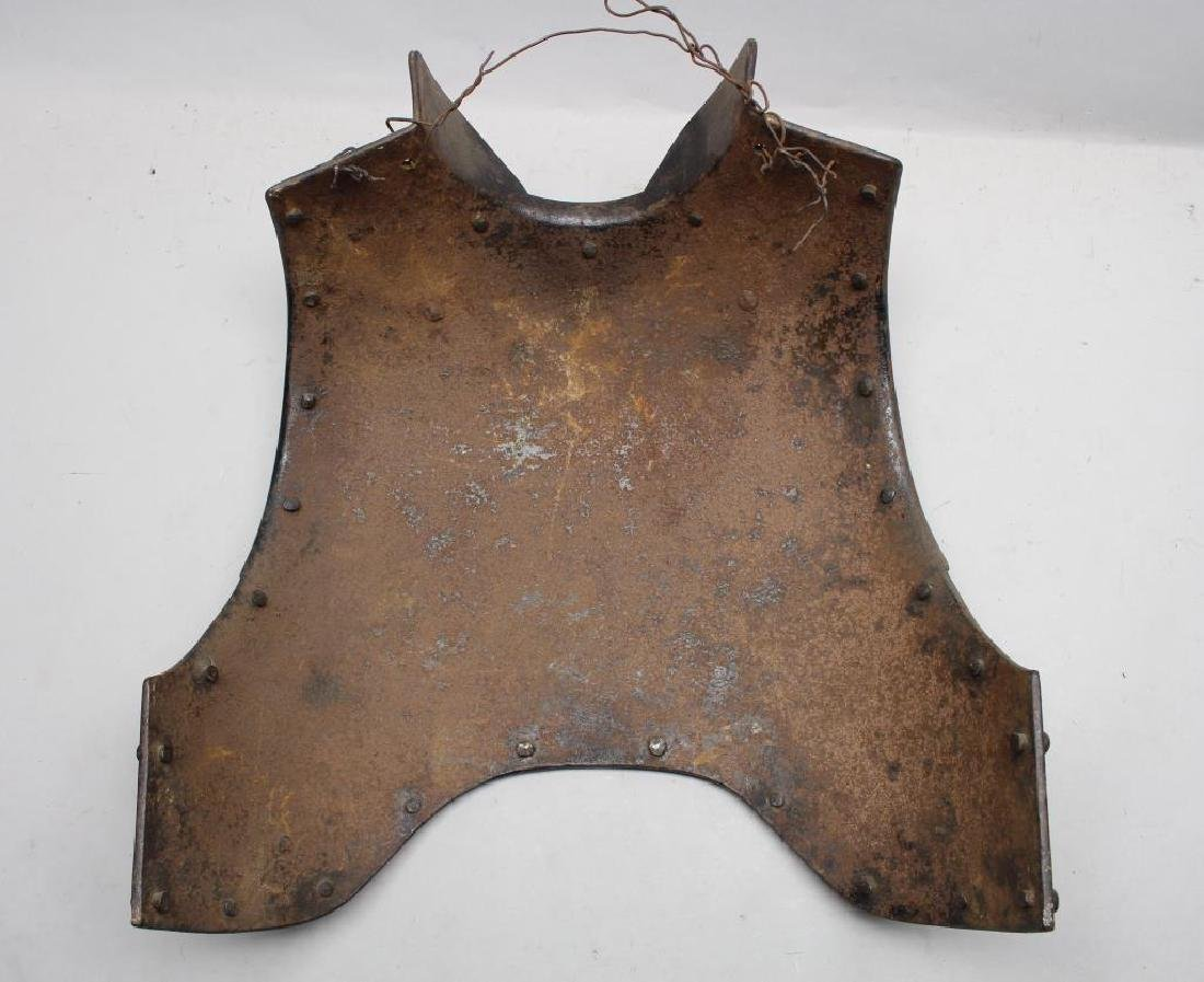 Antique Medieval Style Breastplate & Backplate - 6