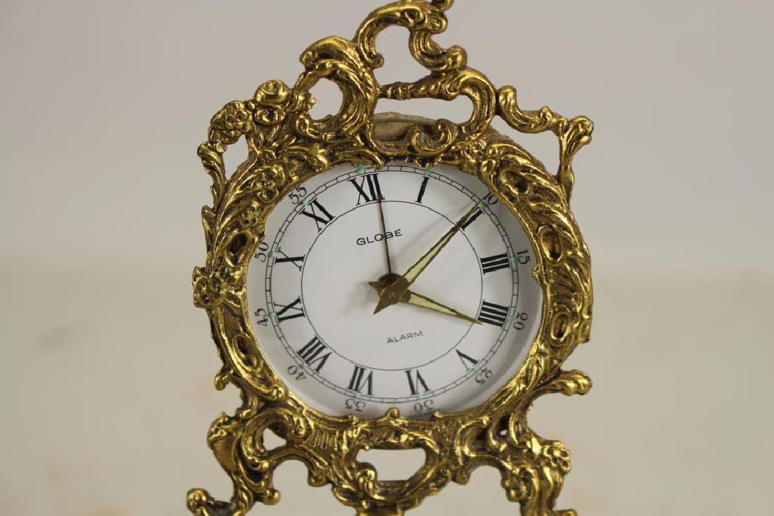 German, Gilt Bronze Cherubic Clock - 2