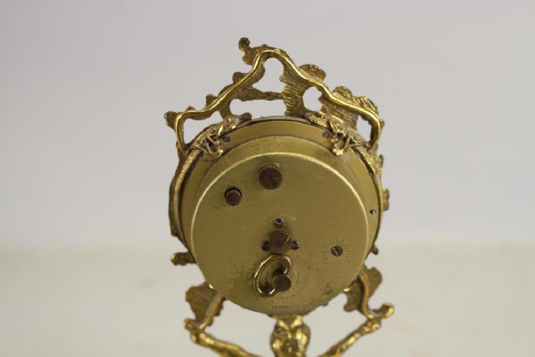 German, Gilt Bronze Cherubic Clock - 3