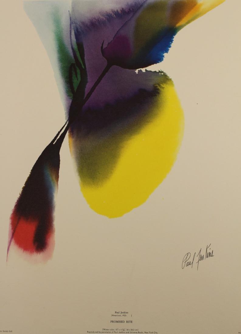 (5) Paul Jenkins (1923 - 2012) Prints