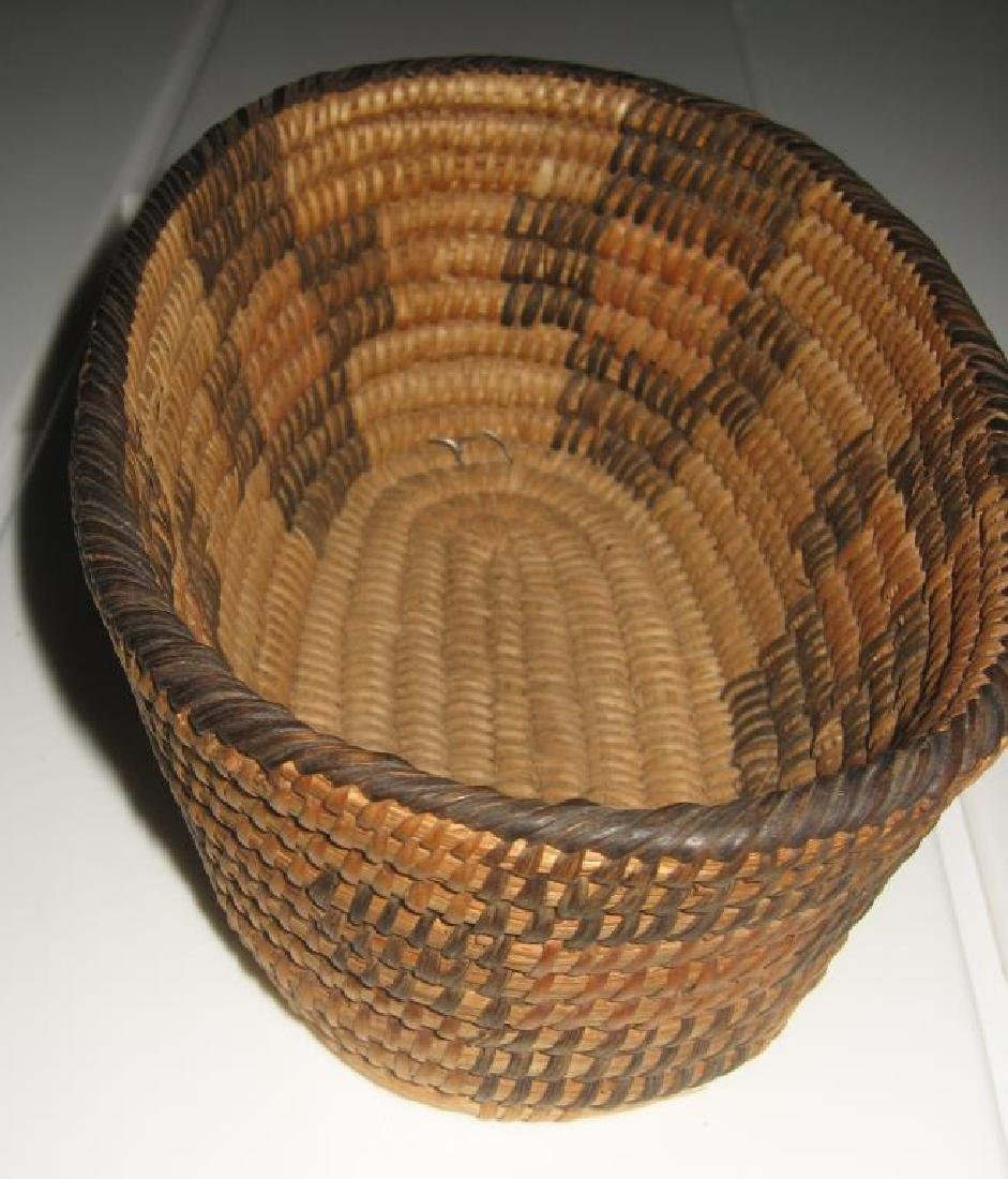Early 20th C. Woven Pima Basket