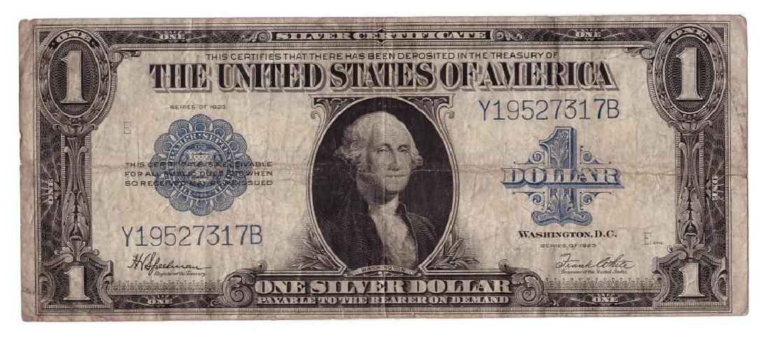 1923 $1 Silver Certificate