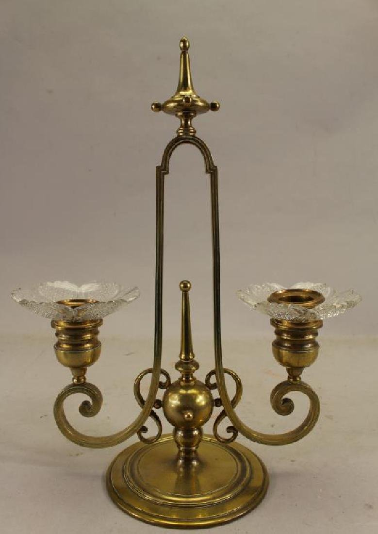 2-Arm Berbedienne Candle Holder