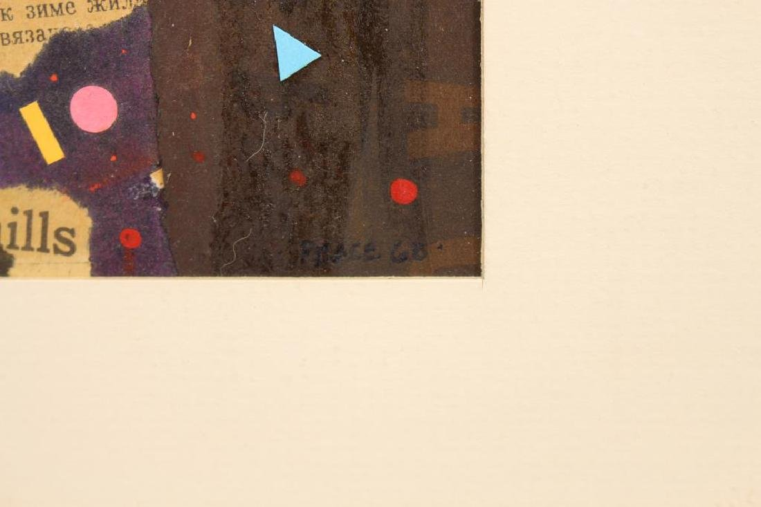Signed, '68 Abstract Composition - 3