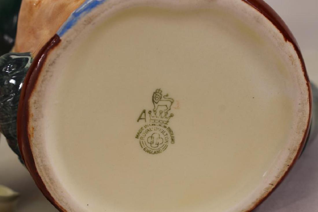 (2) Royal Doulton Toby Mugs - 6