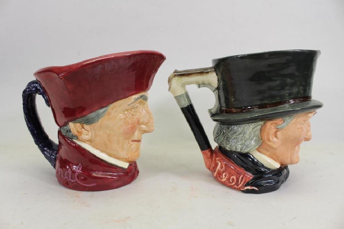 (2) Royal Doulton Toby Mugs - 2