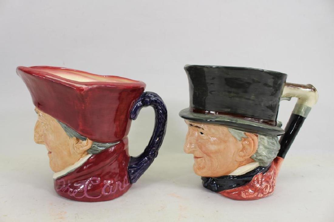 (2) Royal Doulton Toby Mugs - 4