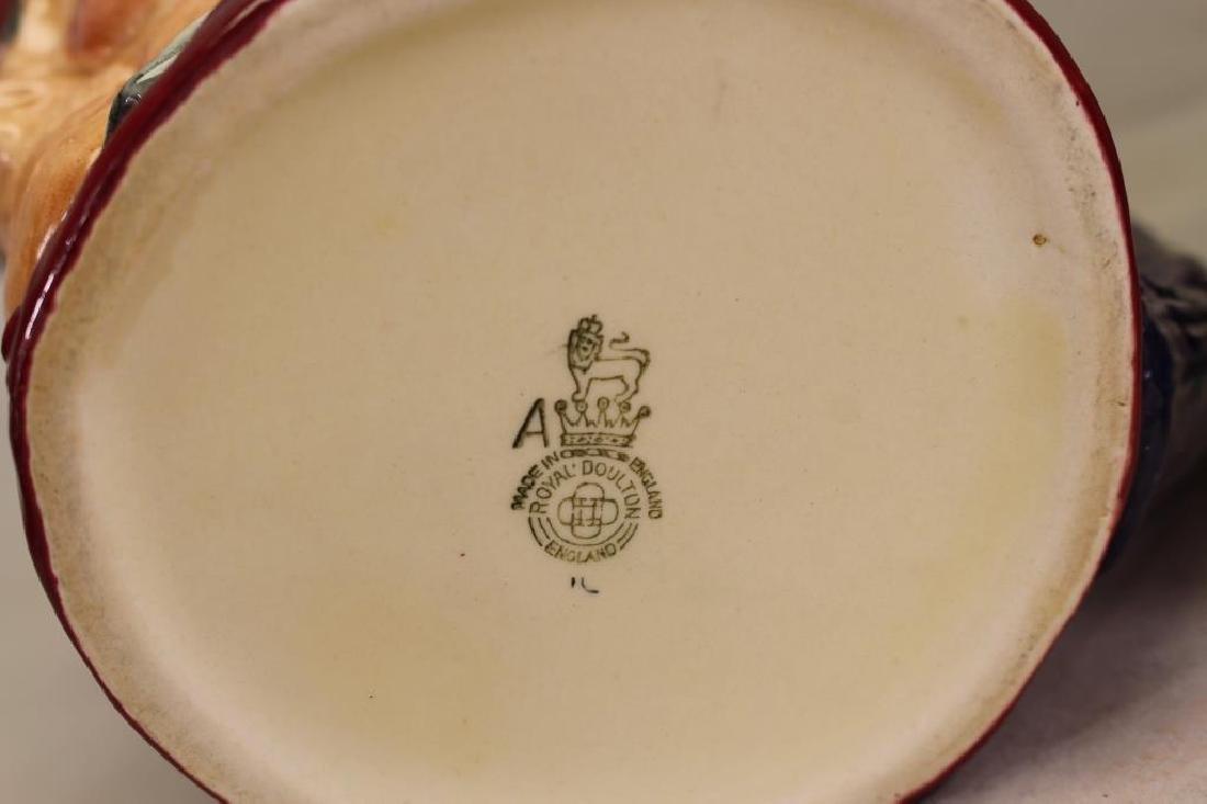 (2) Royal Doulton Toby Mugs - 5