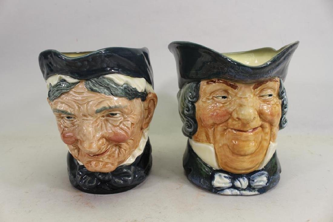(2) Royal Doulton Toby Mugs