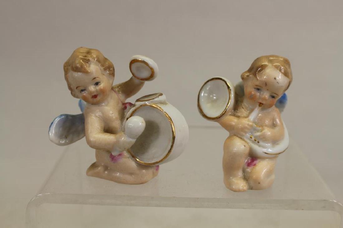 (6) Miniature Japanese Painted Porcelain Cherubs - 2
