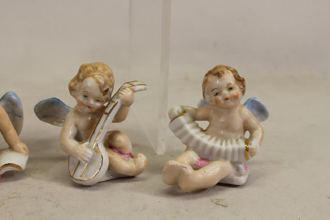 (6) Miniature Japanese Painted Porcelain Cherubs - 4