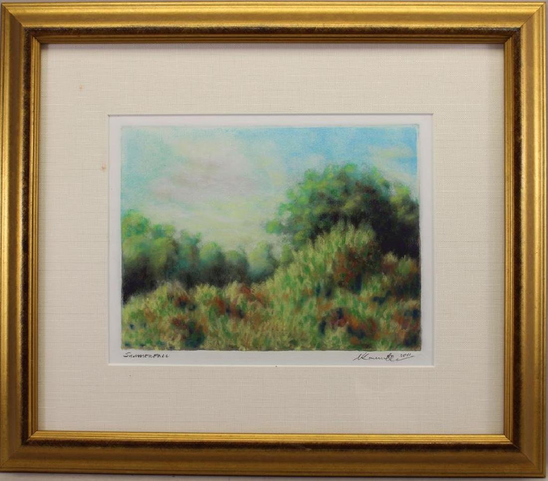 """Summerfall"" Signed 2011 Lithograph"