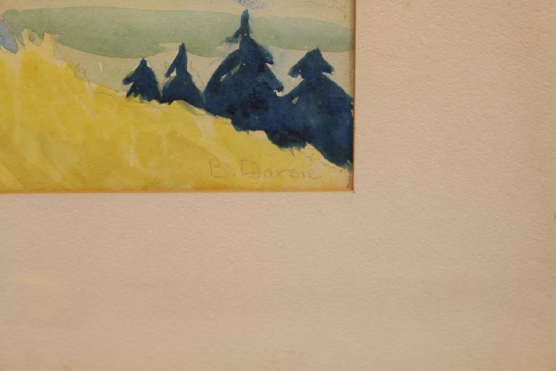 B. Darsie, 20th C. Western Landscape - 2