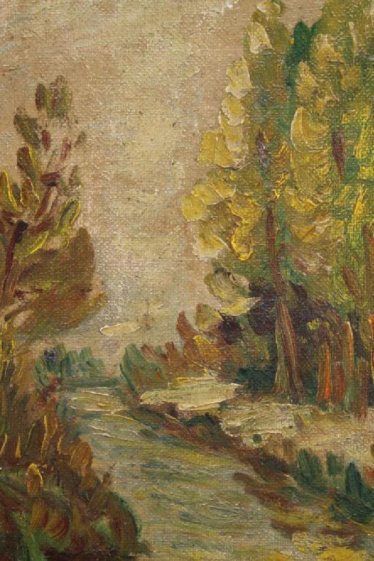 American School, Painting of a River Landscape - 2