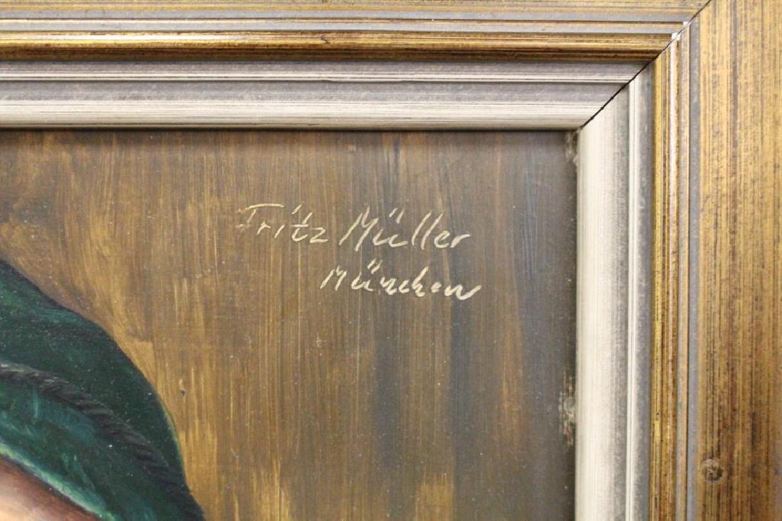 Fritz Muller (1913 - 1972) Portrait of a Man - 4