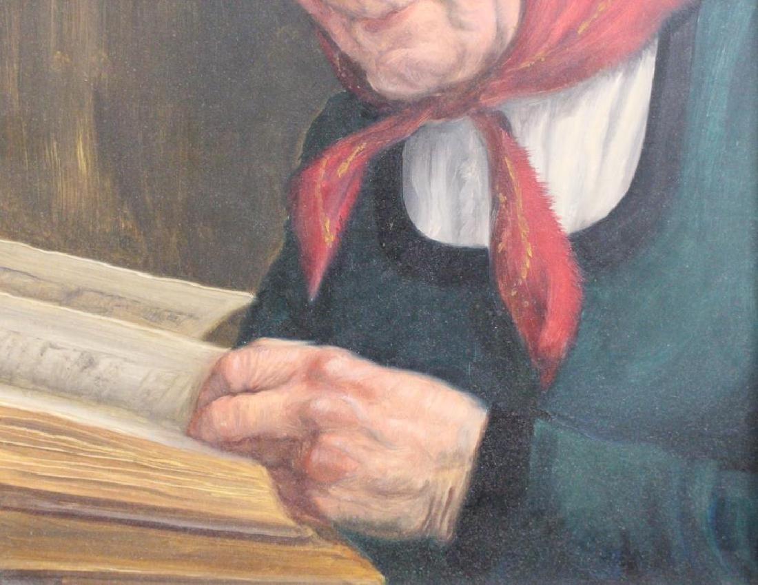 Fritz Muller (1913 - 1972) Portrait of a Woman - 5