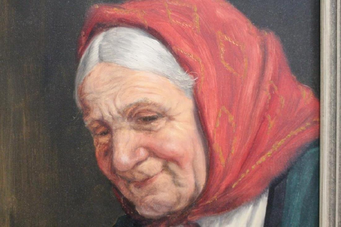 Fritz Muller (1913 - 1972) Portrait of a Woman - 6