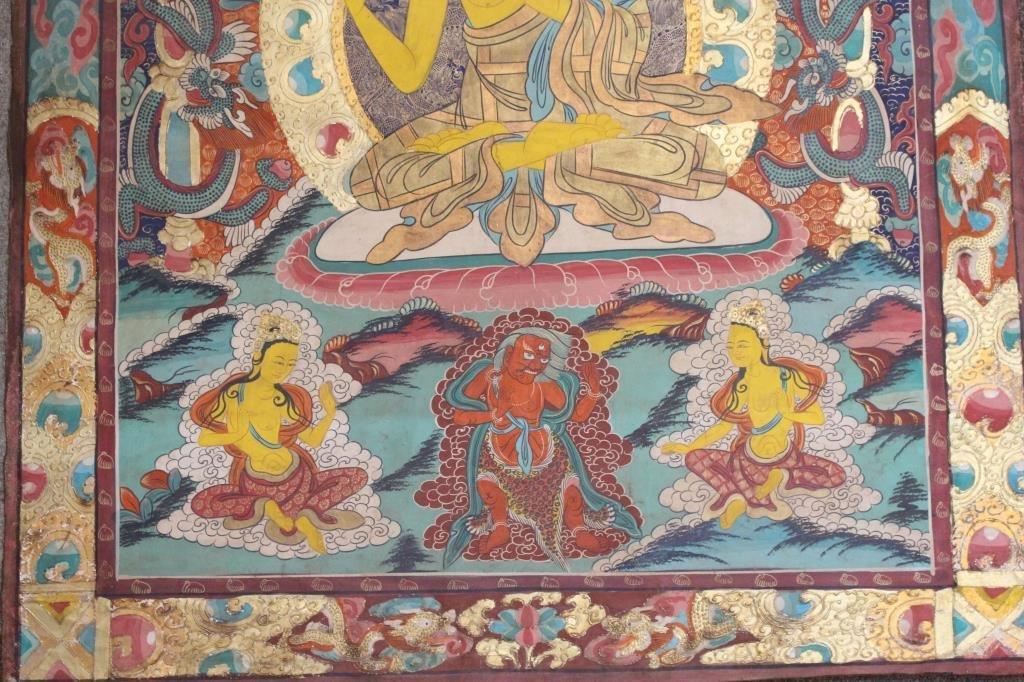 Antique Tibetan Thangka - 3