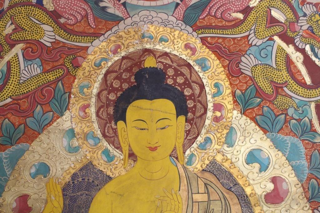 Antique Tibetan Thangka - 7
