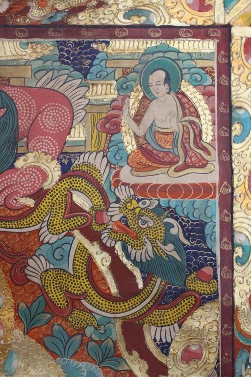 Antique Tibetan Thangka - 8