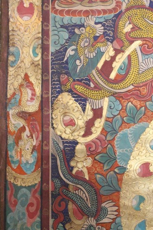 Antique Tibetan Thangka - 9