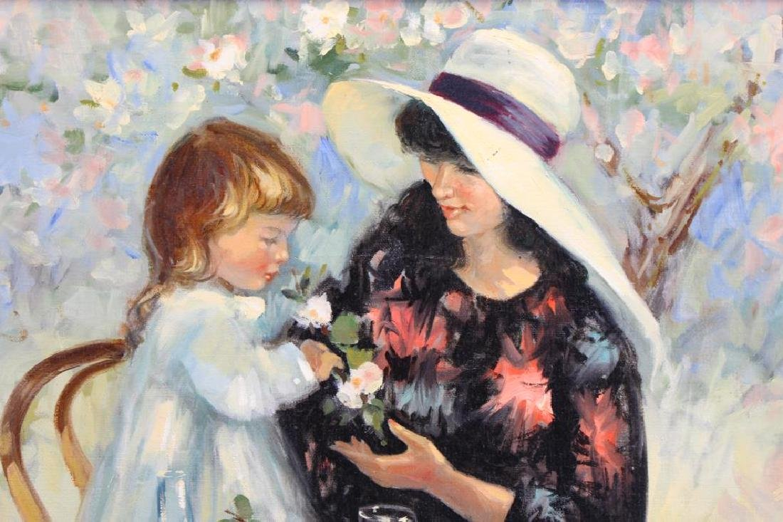 E Kramer, Mother & Child Painting - 2