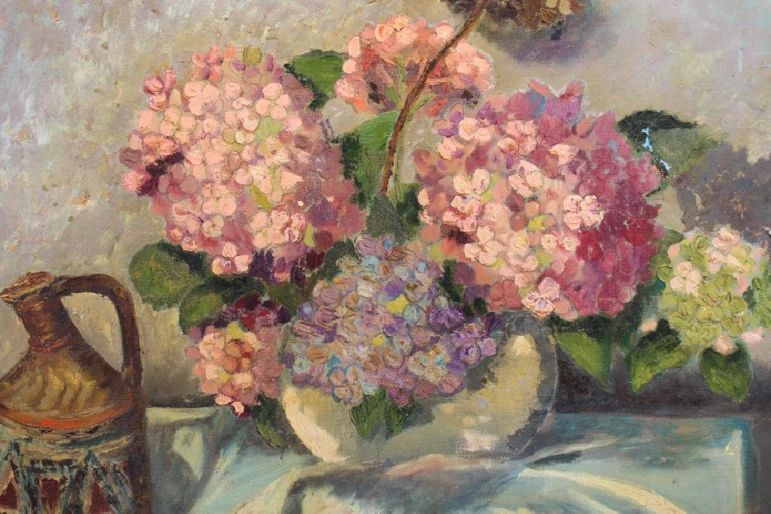 Signed, 20th C. Painting of Bouquet of Flowers - 2