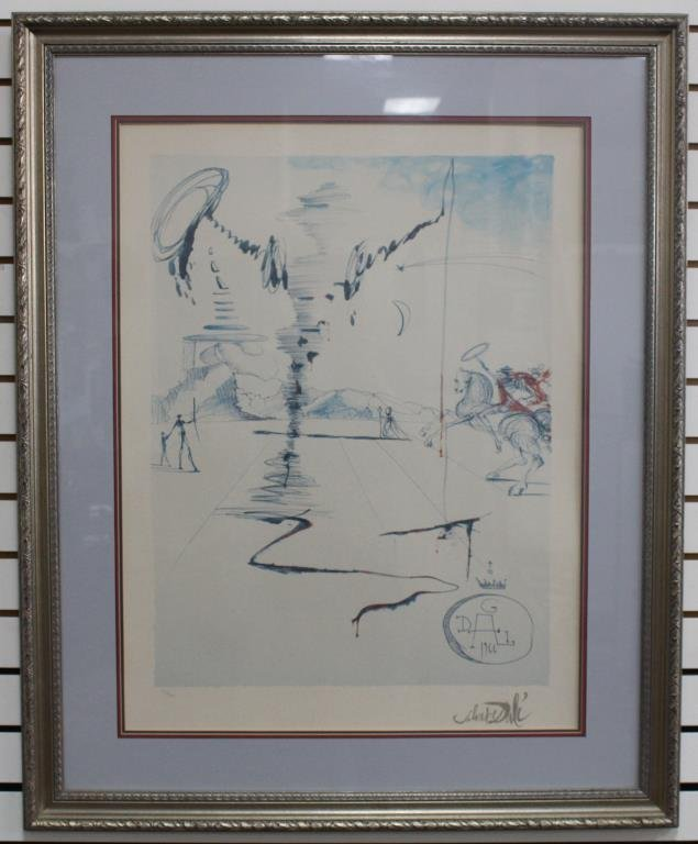 Salvador Dali Lithograph (82/500)