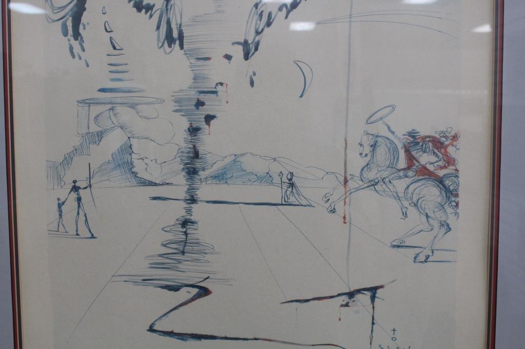 Salvador Dali Lithograph (82/500) - 3
