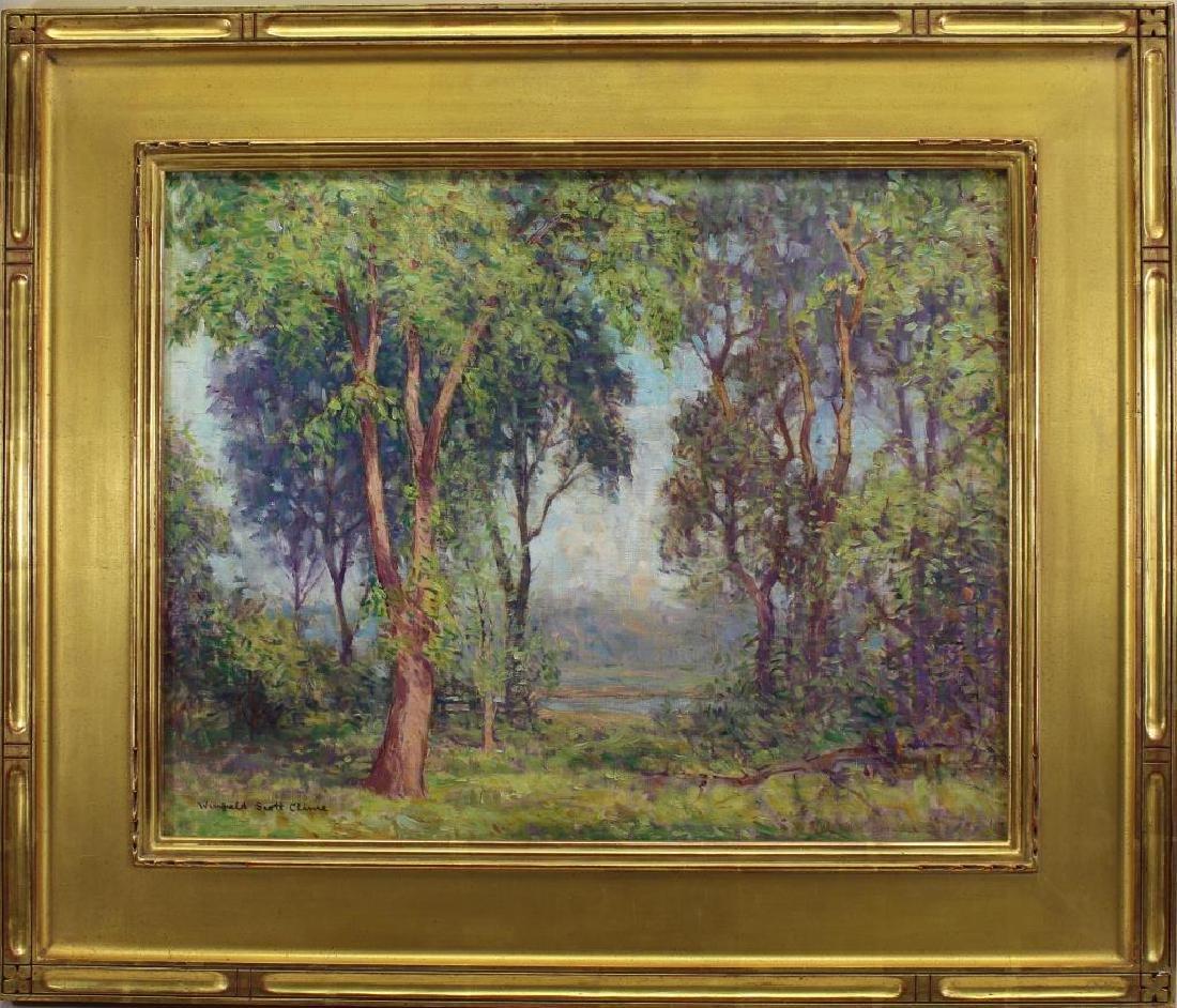 "Winfield S. Clime (1881-1958) ""Woodland Vista"""