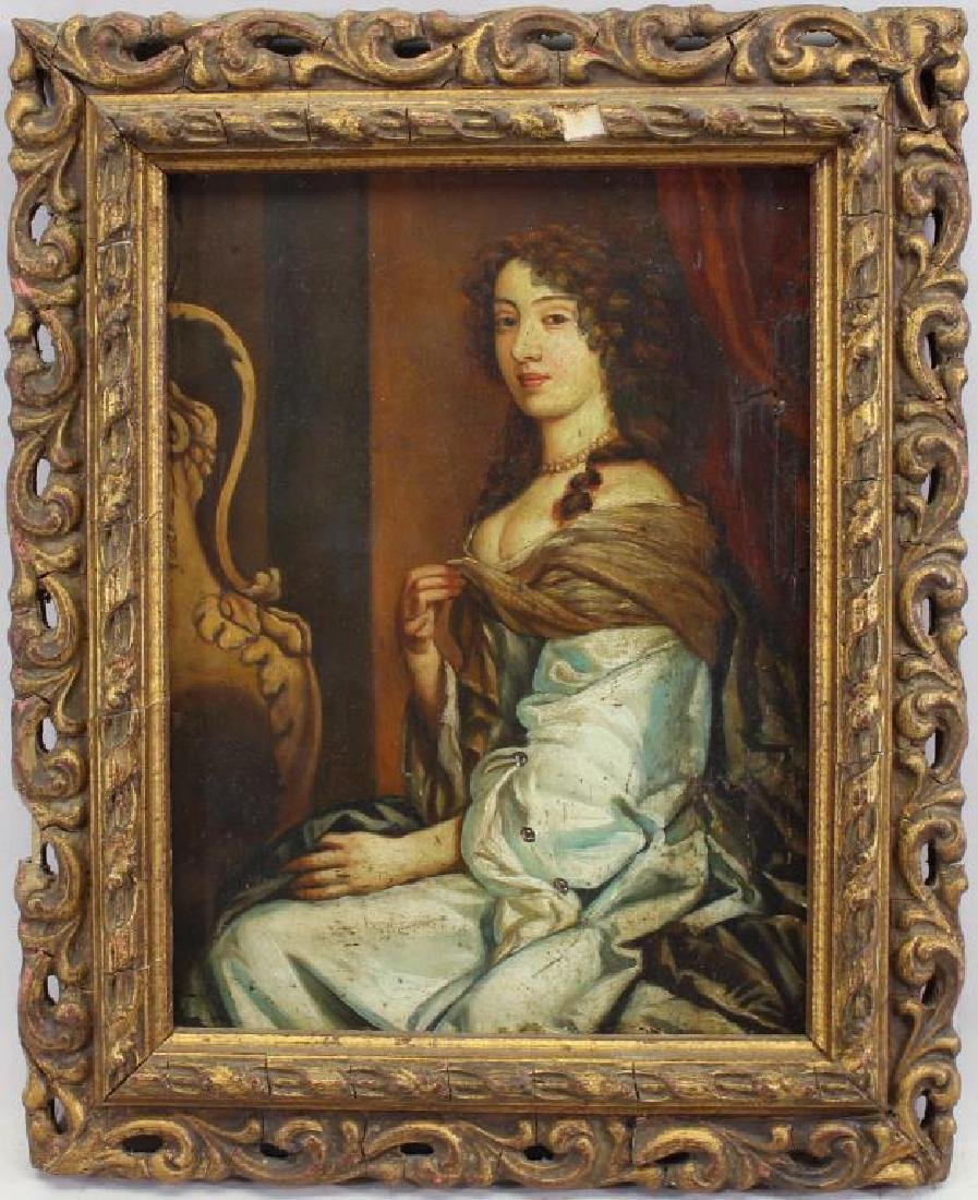 Early 19th C. Portrait of an Elegant Woman
