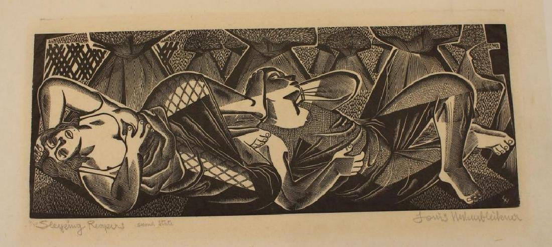 Louis Hechenbleikner (1893-1963)Wood engraving