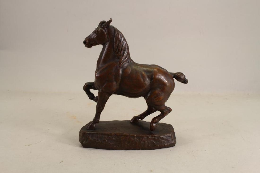 Antoine-Louis Barye (1795 - 1875) Horse Statue - 2