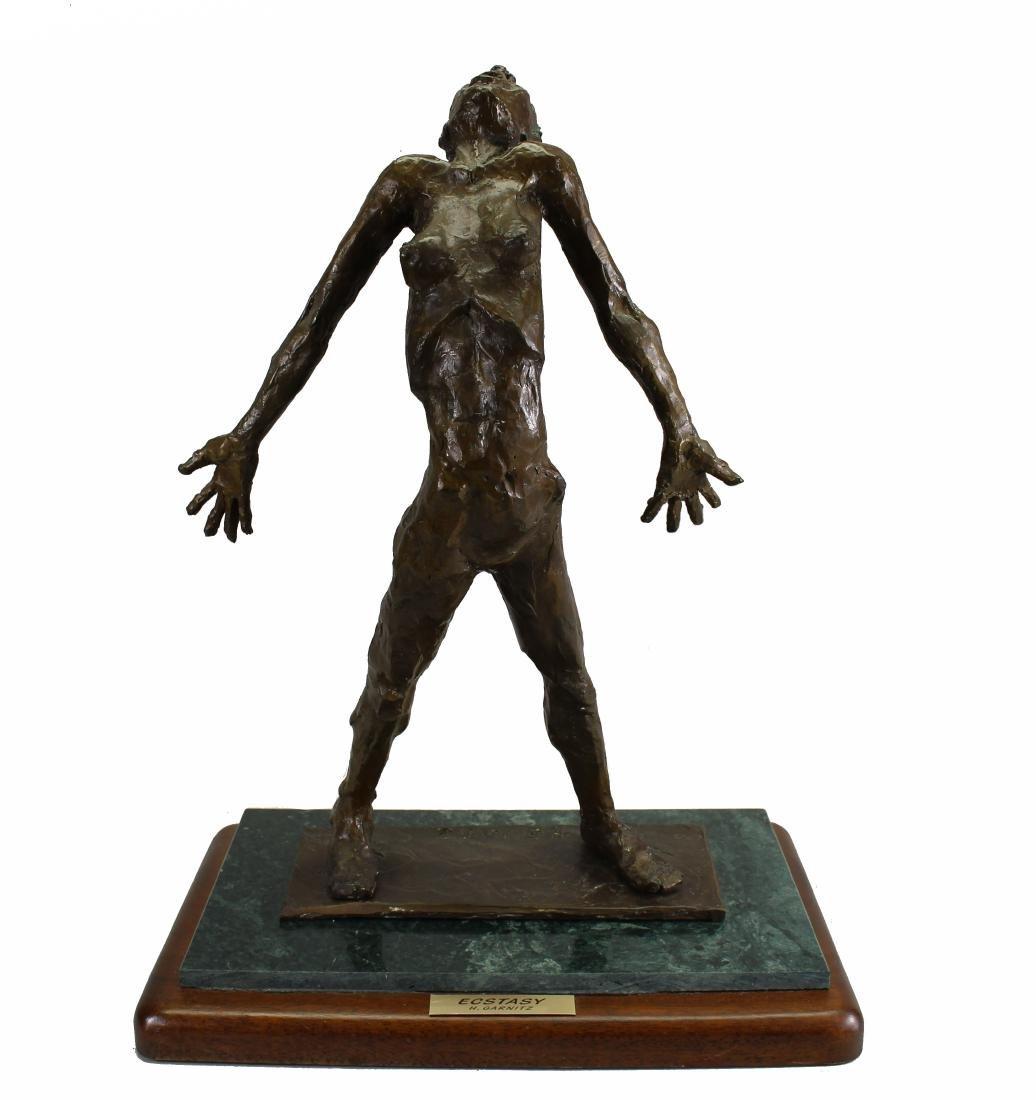 """Howard Garnitz Bronze """"Ecstasy"""" Sculpture"""