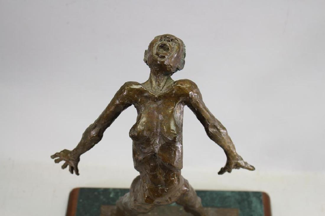 "Howard Garnitz Bronze ""Ecstasy"" Sculpture - 2"