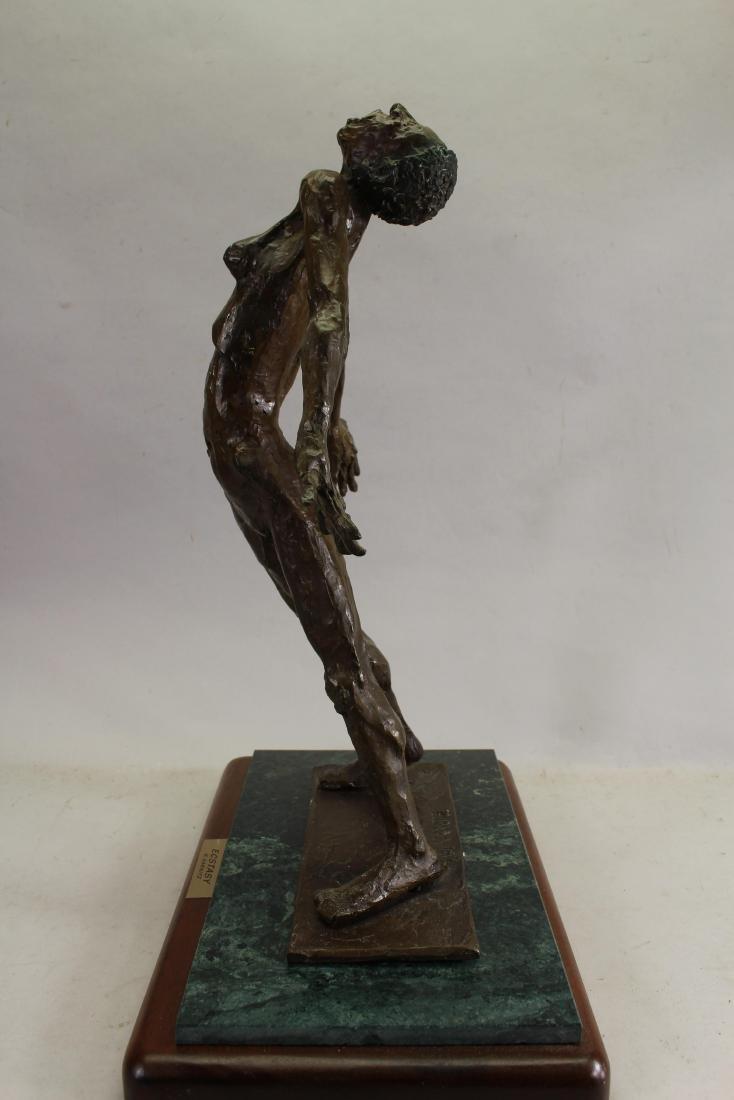 """Howard Garnitz Bronze """"Ecstasy"""" Sculpture - 3"""