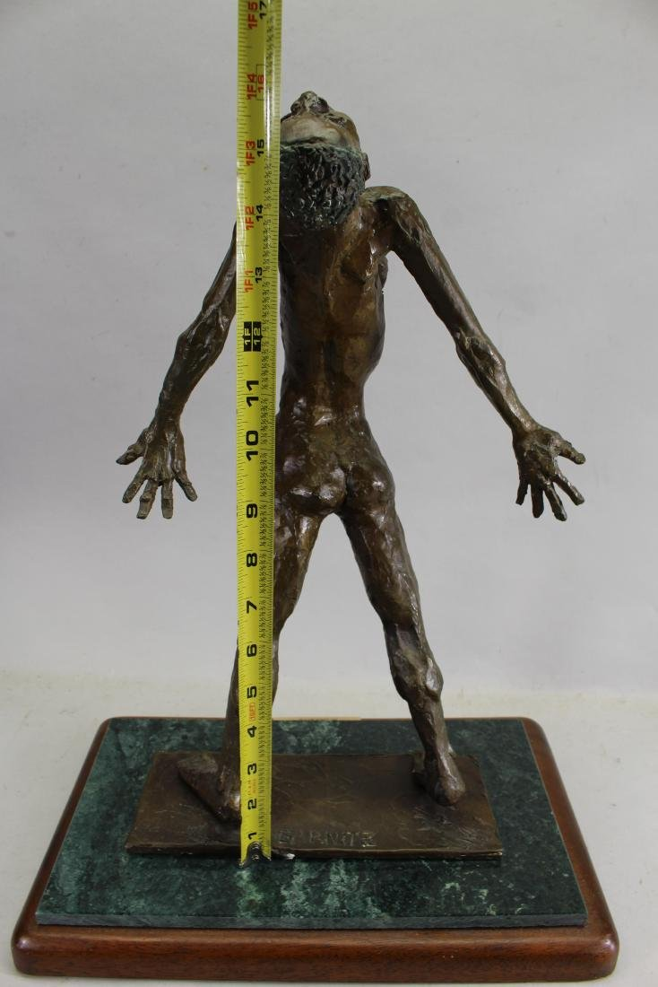"Howard Garnitz Bronze ""Ecstasy"" Sculpture - 5"