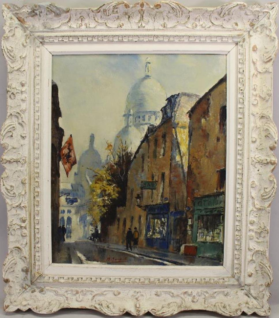"M. Janpol, 20th C. French ""View of Paris"""